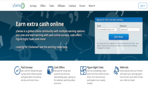 Make Money From Ysense, earn money by completing tasks online, earn money from paid surveys, earn money from home part time, ysense earning websites,